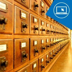 La colección, los catálogos y la ordenación de fondos en la biblioteca online