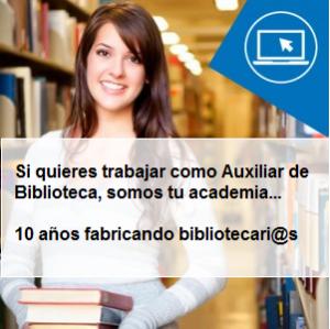 Formación Auxiliar de Biblioteca