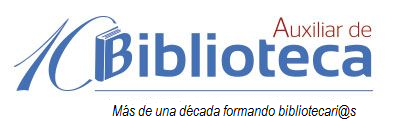 Logo de la Academia Auxiliar de Biblioteca