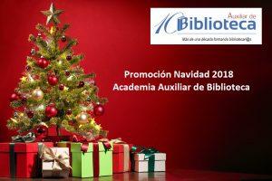 Imagen de la Promoción de Navidad en Academia Auxiliar de Biblioteca