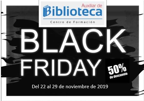 Black Friday Academia Auxiliar de Biblioteca