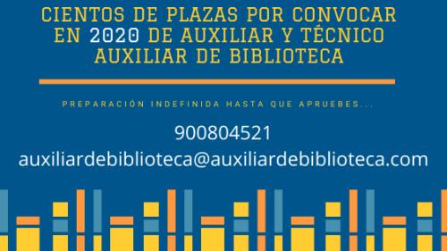 Oposiciones Biblioteca y Cursos de Biblioteconomía