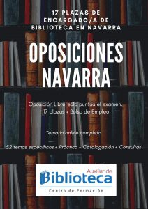 oposiciones biblioteca navarra