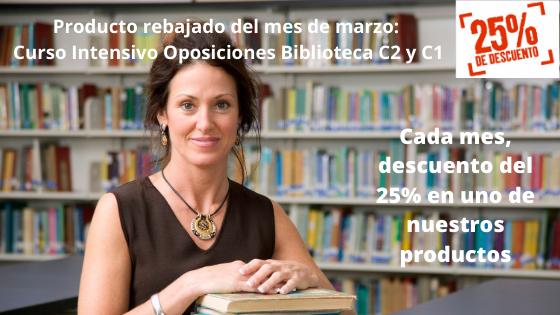 oposiciones biblioteca 2020