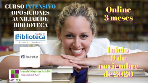 Auxiliar de Biblioteca Oposiciones
